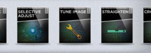 MobieleFotografie - snapseed startscherm - bewerkingen menu