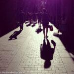 Tegenlicht in de stad met schaduw. [iPhone 4s]