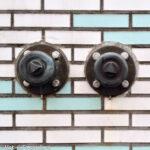 bronzen dop op sprinkler aansluiting