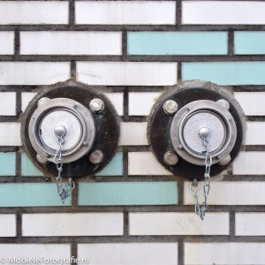 aluminium dop op sprinkler aansluiting
