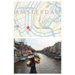 Diptic - De foto en de kaart omgewisseld