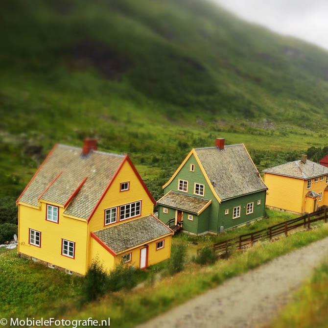 Maak met Snapseed een miniatuurfoto