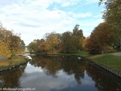 Herfst in Haarlem Centrum, de originele foto [iPhone 6]