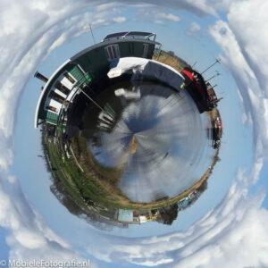 Foto van Nederland Waterland. Een planeetje maken met de planetical app. [iPhone6]