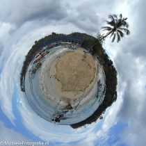 Planeetje maken van je mobiele foto?