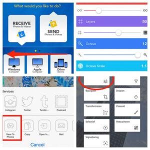 Op de app-pagina worden alle apps beschreven die op mobielefotografie.nl aanbod komen.