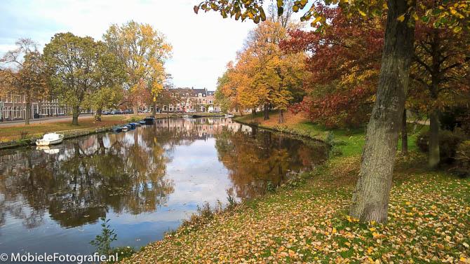 Foto van Het Haarlemse Kenaupark in de herfst. [Lumia 640 LTE]