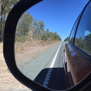 Denk tijdens het maken van je vakantiefoto's [link] ook aan het fotograferen in de autospiegel