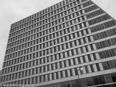 De omzetting in een zwart-wit foto door Snapseed.