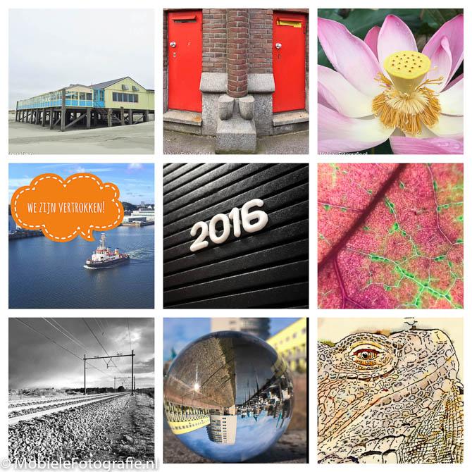 Het mobiele fotografie jaaroverzicht 2016