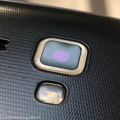 Schoongemaakte lens van een mobiele telefoon [iPhone 7]